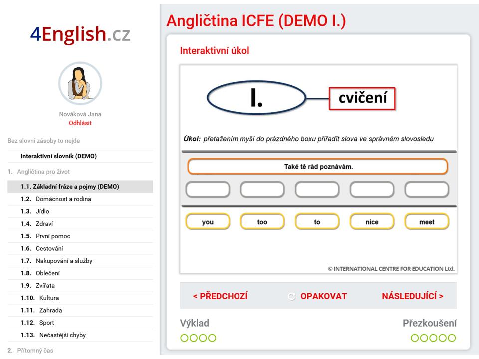 4english Internetova Anglictina Pro Vas